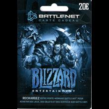 Blizzard Gift Card 20 EUR ✅Battle.net