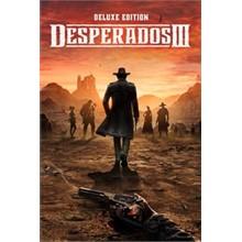 Desperados III Deluxe XBOX ONE 🔑KEY🌏