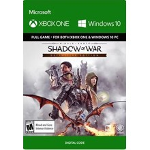 Middle-earth: Shadow of War Definitive XBOX/WIN 10 KEY
