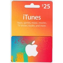 🎵ITUNES GIFT CARD $25 USA🎵