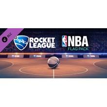Rocket League - NBA Flag Pack [RU/CIS Steam Gift]