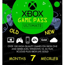 XBOX GAME PASS ULTIMATE 4+4 MONTHS EA PLAY🌎 + CASHBACK