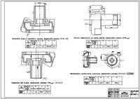 Корпус водяного насоса+наладки, формат AutoCad