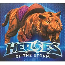 Heroes of the Storm — Golden Lunar Tiger