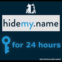 VPN HideMy.name ✅ key for 24 hours