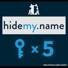 VPN HideMy.name ✅ 10 keys for 24 hours each