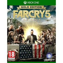 🔥Far Cry 5 GOLD Edition  XBOX ONE🔑KEY