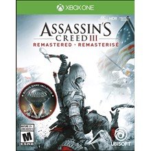 🔥Assassin´s Creed III Remastered XBOX ONE 🔑KEY
