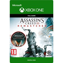 Assassin´s Creed III Remastered XBOX ONE / X|S Code 🔑