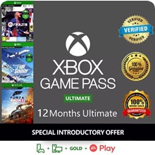 🔥🌍XBOX GAME PASS ULTIMATE+EA PLAY 12+1 MONTH +MK XL🎁