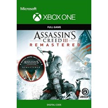 ASSASSIN´S CREED III REMASTERED XBOX ONE  SERIES X/S