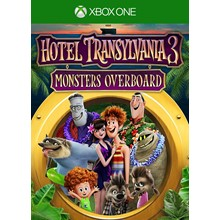 ✅ Hotel Transylvania 3: Monsters Overboard XBOX ONE 🔑