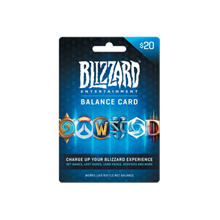 💎 Battle.net 20 USD Gift Card Blizzard 💎