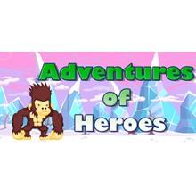 Adventures of Heroes - STEAM Key - Region Free / GLOBAL