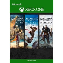 🔑Assassin´s Creed Bundle:Valhalla,Odyssey,Origins/XBOX
