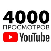 4000 views of the video on Youtube by real people