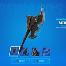 (FORTNITE) Batarang Axe Pickaxe. Global Key