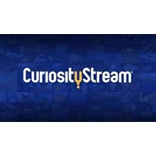 CuriosityStream Auto Renewal 1 YEAR
