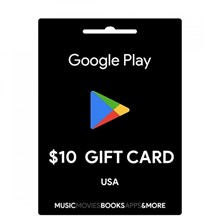 Google Play Gift Card $10 (USA) + BONUS
