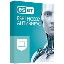 ESET NOD32 ANTI-VIRUS 1 PC 1 year RUS WINDOWS