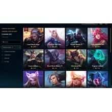 Any League of Legends skin 1350 RP on the EU West