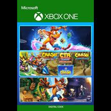 ✅ Crash Bandicoot - Crashiversary Bundle XBOX 🔑