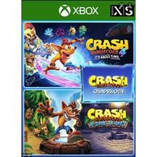 ✅ Crash Bandicoot - Quadrilogy Bundl XBOX ONE | X|S 🔑