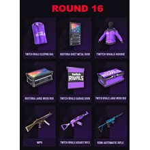 RUST SKINS 9 TWITCH DROPS   Round 11   10 ITEMS