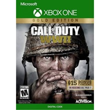 🎮Call of Duty®: WWII - Gold Edition XBOX ONE🔑Key