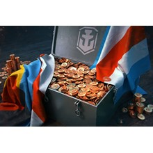2750-47000 doubloons for World of Warships Legends XBOX