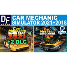 🧑🏻🔧Car Mechanic Simulator 2021+2DLC +CMS 2018/STEAM