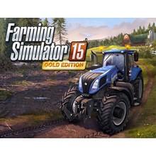Farming Simulator 15 Gold Edition (steam key) -- RU