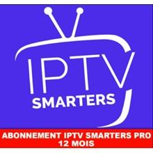 IPTV 12 mois (M3U✔️SMART TV✔️ANDROID✔️MAG) +Adult