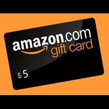 AMAZON Gift Cards 5 USD (USA)