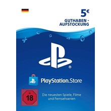 PLAYSTATION NETWORK (PSN) - 5€ EUR (DE , GERMANY) 🎮