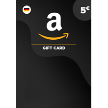 ✅ Amazon.com Store - €5.00 gift card