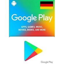 GOOGLE PLAY GIFT CARD 5 € EURO - GERMANY DE 🔥