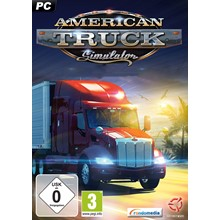 AMERICAN TRUCK SIMULATOR (STEAM) INSTANTLY + GIFT