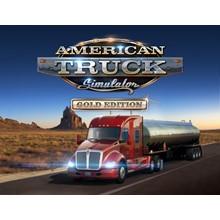 AMERICAN TRUCK SIMULATOR GOLD EDITION (STEAM) + GIFT