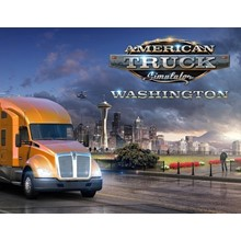AMERICAN TRUCK SIMULATOR WASHINGTON (STEAM) + GIFT