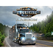 AMERICAN TRUCK SIMULATOR OREGON DLC (STEAM) + GIFT