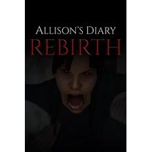 Allison's Diary: Rebirth Xbox (ONE SERIES S X)KEY🔑