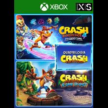 Crash Bandicoot™ - Quadrilogy Bundle Xbox key🔑🌍💳