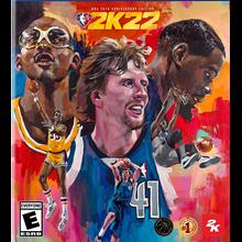 NBA 2K22 NBA 75th Anniversary Edition & Gamepass ultima
