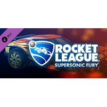Rocket League Supersonic Fury DLC Pack (Steam Gift ROW)