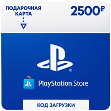 Payment card 2500 rubles PlayStation Network Store RUS