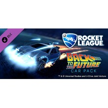 Rocket League - Back to the Future [RU/CIS Steam Gift]
