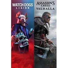 Assassin's Creed valhalla + Watch Dogs: Legion Xbox