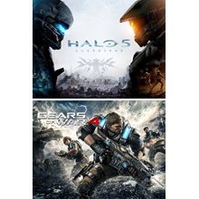 ✅ Gears of War 4 and Halo 5: Guardians Bundle Xbox key
