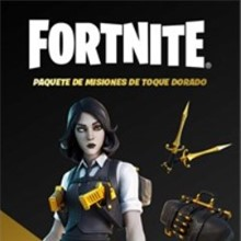 (FORTNITE)  Golden Touch Quest Pack  XBOX + GIFT